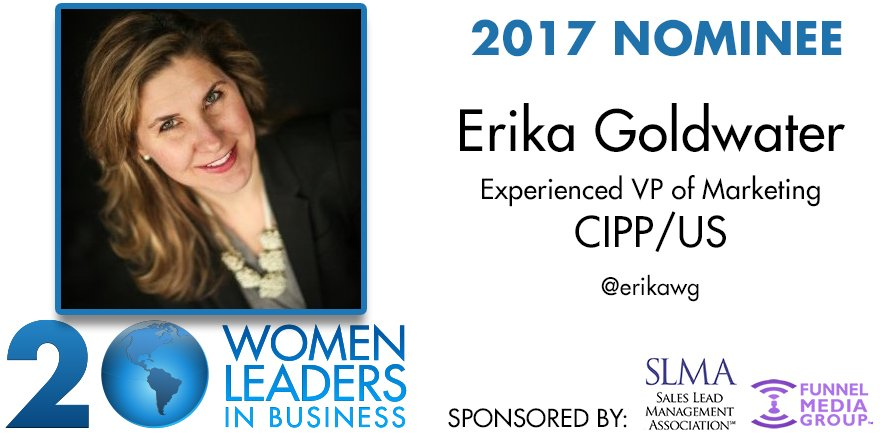 20 women to watch - Erika Goldwater
