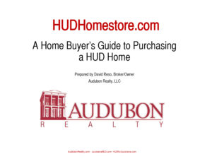 HUD instructions from Audubon Realty.