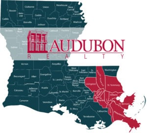 Louisiana Parishes represented by Audubon Realty