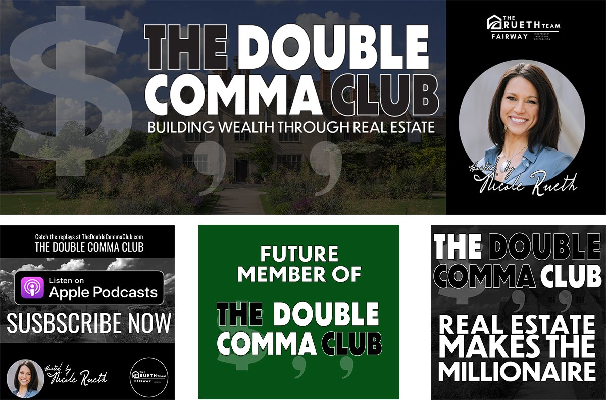 The Double Comma Club by Nicole Rueth