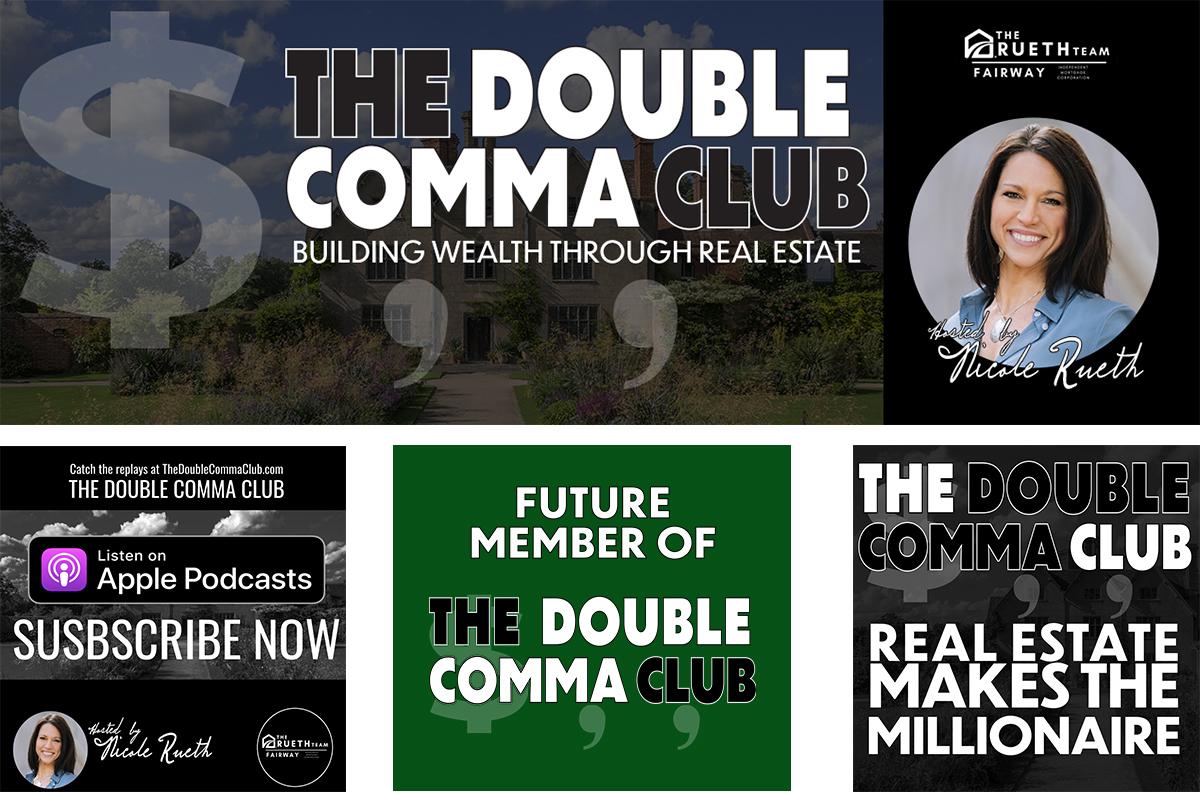 The Double Comma Club by Nicole Rueth