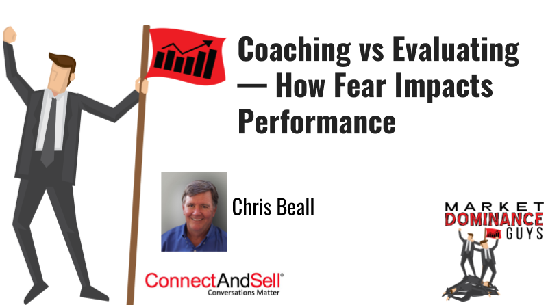 Coaching or evaluating and how it affects performance.