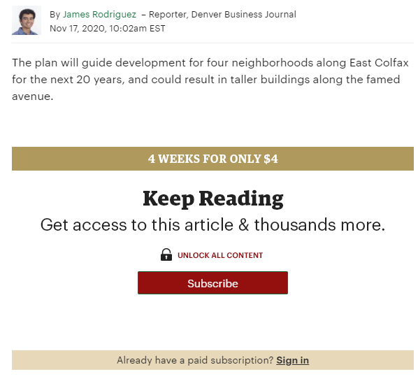 Subscribe to keep reading